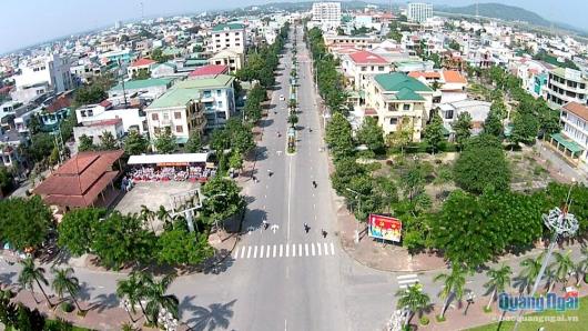 Lễ kỷ niệm và bắn pháo hoa chào mừng 30 năm tái lập tỉnh Quảng Ngãi