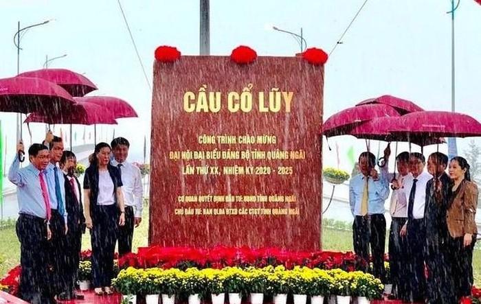 Lễ Thông Xe Kỹ Thuật Cầu Cổ Lũy bắc qua sông Trà Khúc